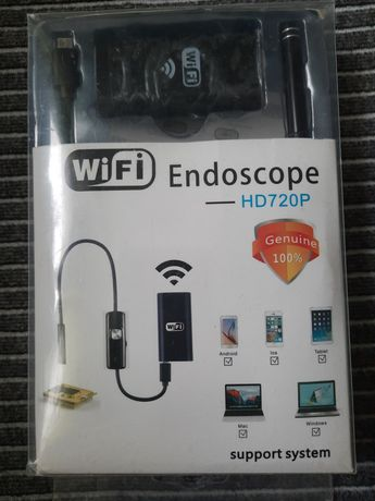 Kamera inspekcyjna Endoskop HD 720p WiFi ip67 led 5m