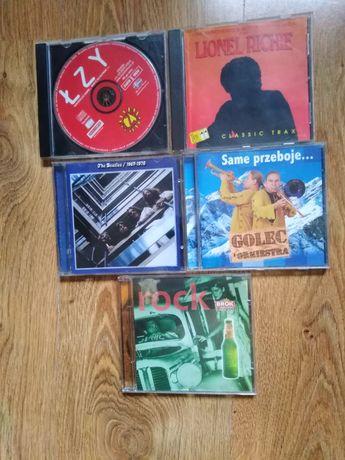 płyty CD 5 płyt -całosc 10 zł