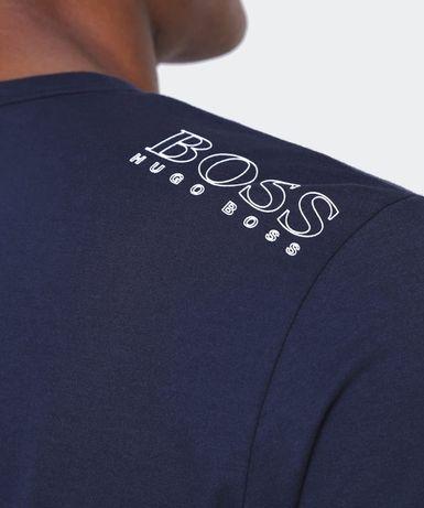HUGO BOSS Tee - *Granatowy* T-Shirt męski roz.S,M,L,XL. Moda PREMIUM !