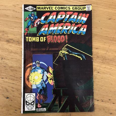 BD Marvel Captain America 1980