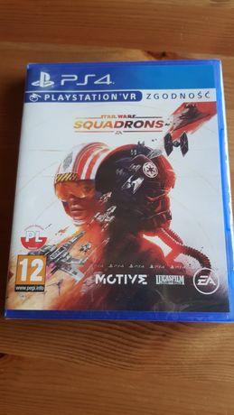 Gra Star Wars Squadrons, nowa, w folii, PS4