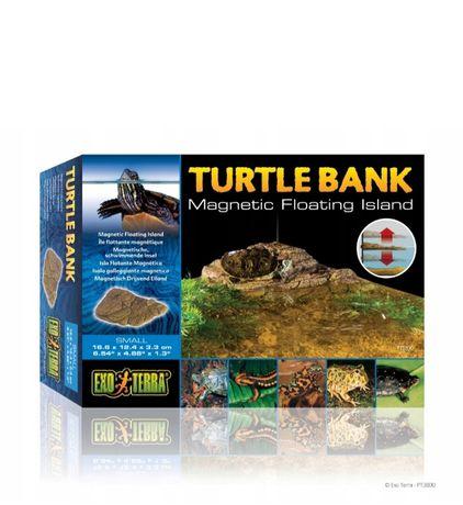 EXO TERRA Turtle bank L wyspa żółw krab żaba