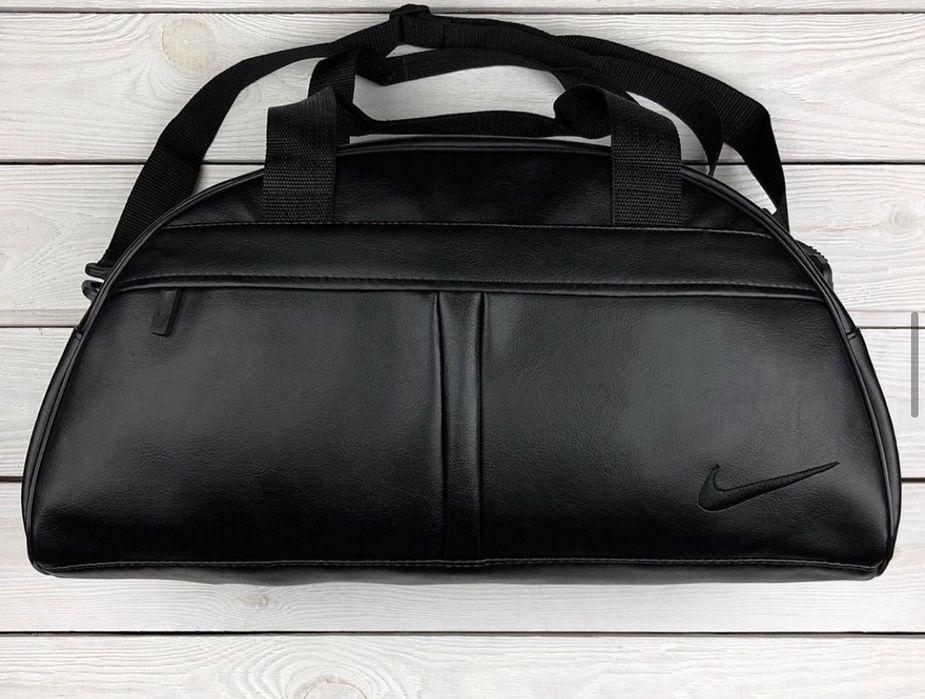 ТОЛЬКО СЕГОДНЯ !!!Сумка спортивная кожаная Nike Puma Днепр - изображение 1