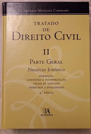 Tratado de Direito Civil, Menezes Cordeiro