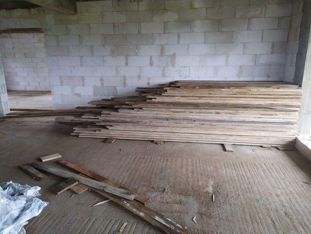 Deski szalunkowe calówki ok 4,5m3