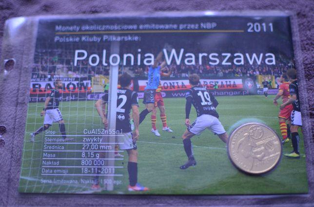 Blister 2zł POLONIA WARSZAWA - 2011r