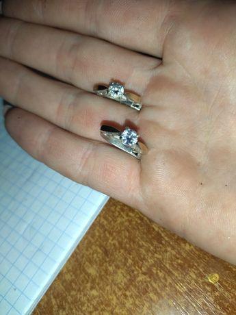 Сережки срібло(з позолотою)'