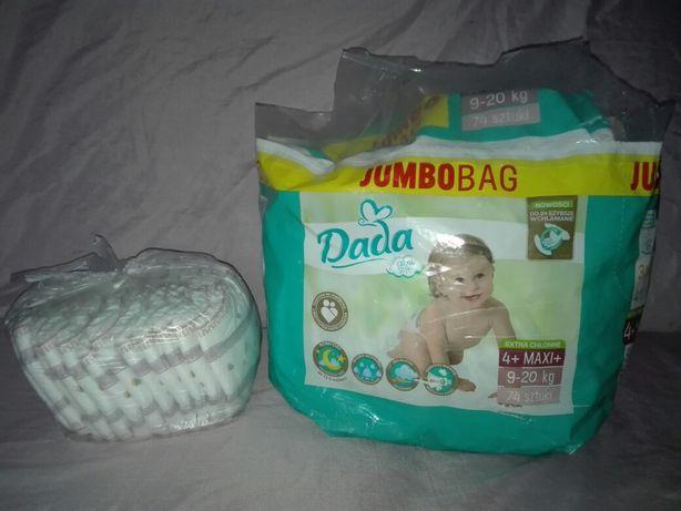 Zamienie pampersy DADA 4+ na 9-20kg pieluchy