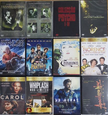 Dvd- Filmes e Series