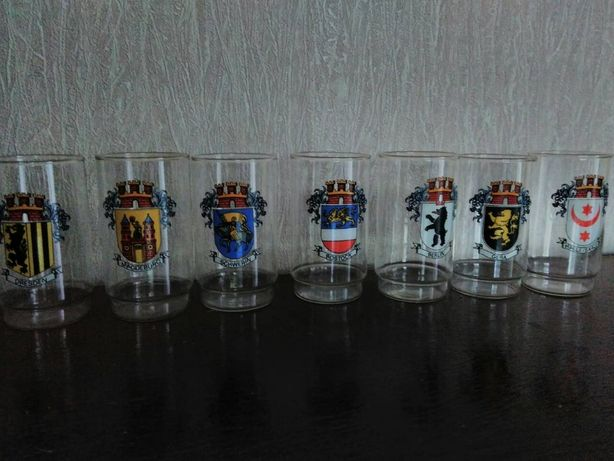 Продам стаканы ГДР, 80-е годы