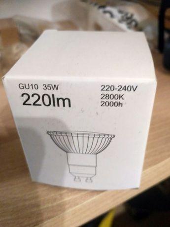Żarówki GU10 220lm nowe