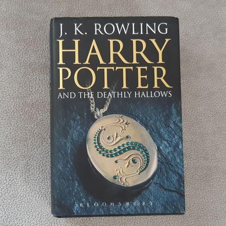 J.K.Rowling - Harry Potter Deathly Hallows PO ANGIELSKU angielski book