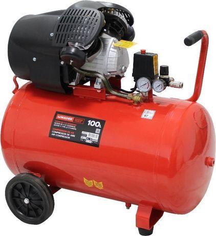 Compressor de Ar 100L 3HP - MADER® - Motor em V