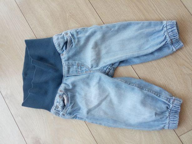 Jeansy chłopięce rozmiar 68 h&m