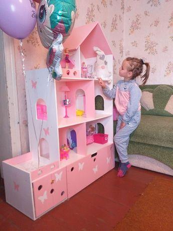 Шикарный кукольный домик для маленькой принцессы