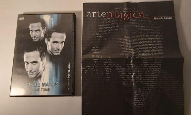 DVDs Luís de Matos e Revista Arte Mágica