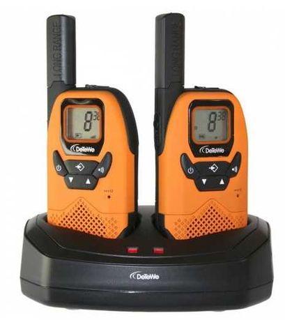 Radiotelefon PMR DeTeWe Outdoor 8000 Duo Case Krótkofalówki