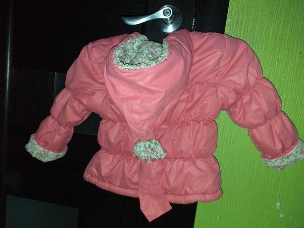 Продам курточку весна -осень на 2-4 годика.