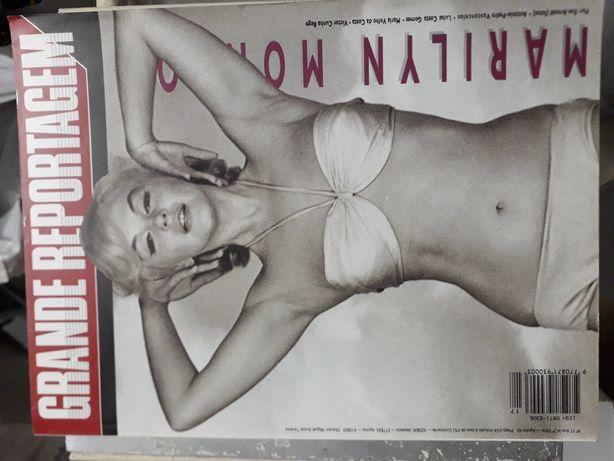 Revista Grande Reportagem Marilyn Monroe