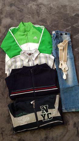 Ubrania dla chlopca rozmiar 104