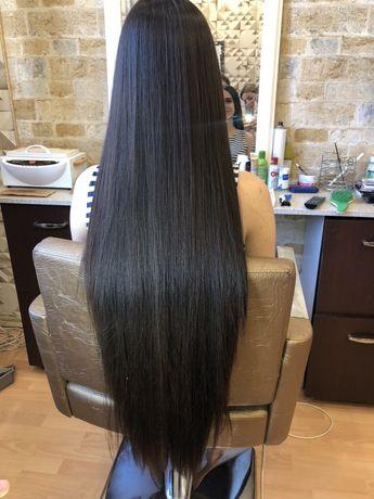 Наращивание  волос ботокс кератин