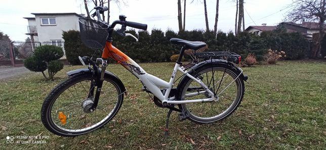 Rower Niemieckiej marki Cyco koła 24 .