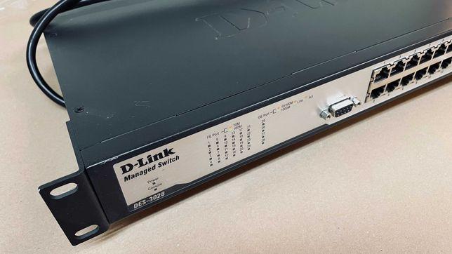 Switch DES 3028 - używany