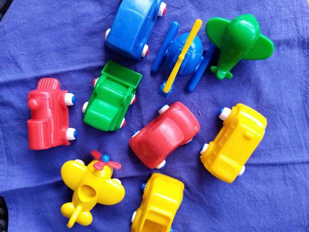 Carrinhos brincar coloridos