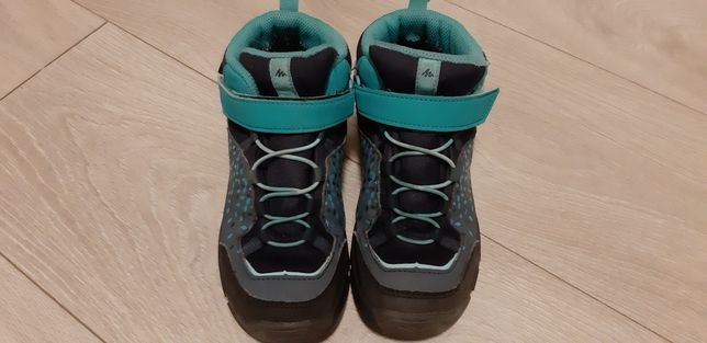 Buty turystyczne dziecięce Quechue MH120 MID WPT