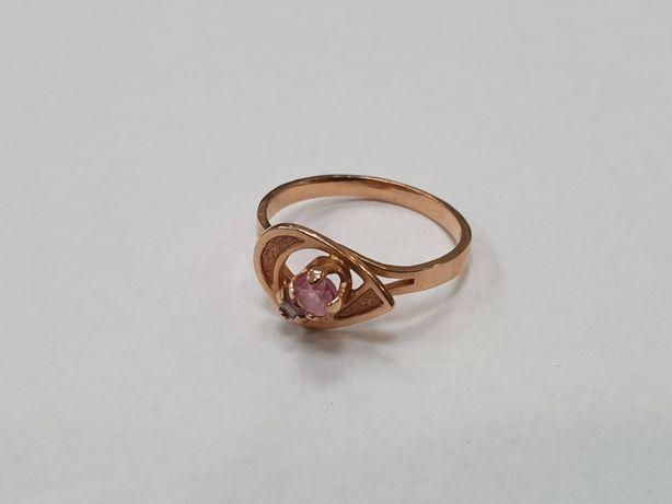 Retro! Klasyczny złoty pierścionek damski/ 585/ 2.2 gram/ R13/ Gdynia