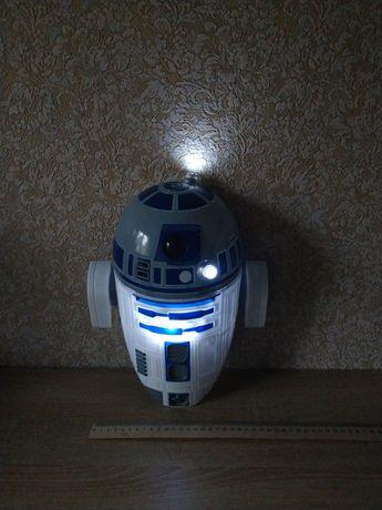 Робот дроид R2 D2 звездные войны star wars ночник