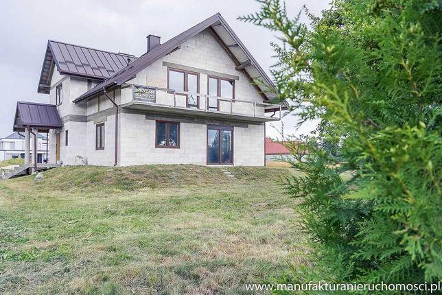 Dom nad Neckiem, Augustów - st. surowy zamknięty, działka 1700m2