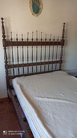 Mobília de quarto em mogno antiga