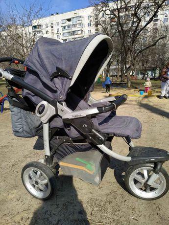 Peg Perego gt3 3в1, люлька, прогулочная коляска, автокресло 0+