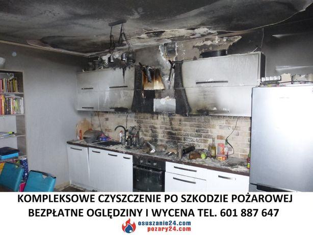 Sprzątanie po pożarze, Czyszczenie z sadzy po pożarach, Ozonowanie FV