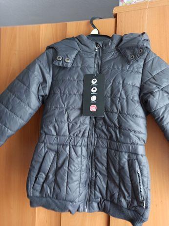 NOWA Kurtka/krótki płaszcz r.104 Cool Club jesienno-zimowa ciepła SMYK