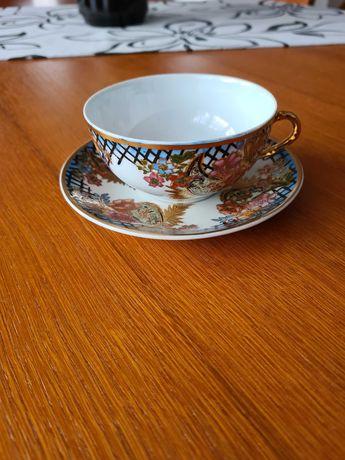 Komplet porcelany chińskiej oryginalny 6 filiżanek