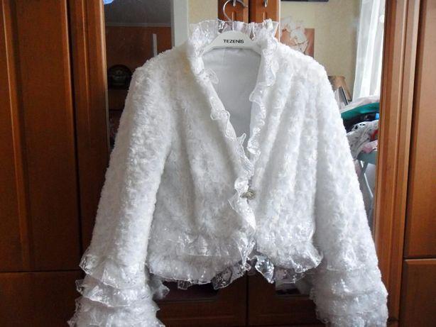 Продам свадебную шубку, один раз одетая!!!