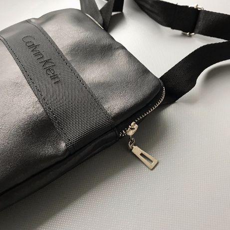 АКЦИЯ! Стильная мужская сумка через плечо, Calvin Klein, мессенджер