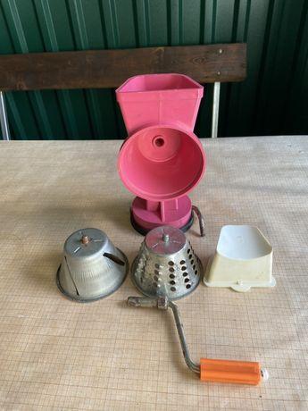 терка кухонная ручная механическая СССР
