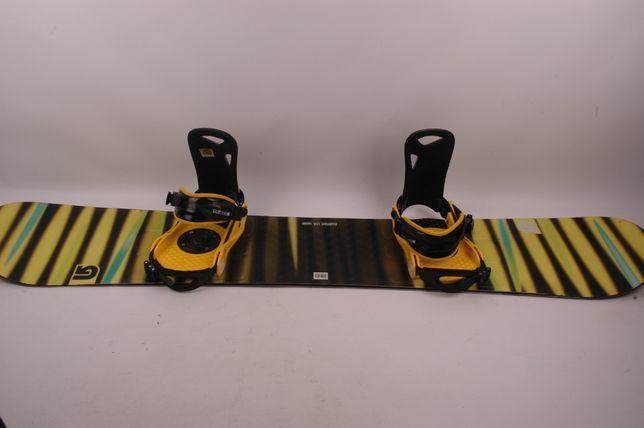 Burton LTR 160 wide + wiązania Burton - deska snowboardowa