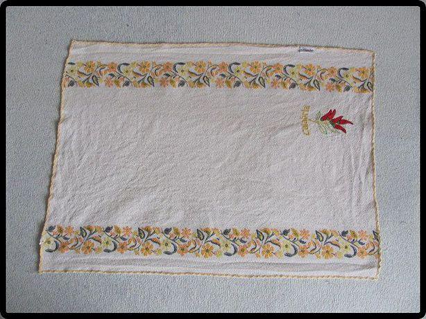 Bawełniany obrus obrusik 70 cm x 50 cm