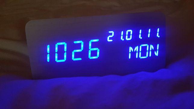 Cyfrowy zegar Led z data i temperatura