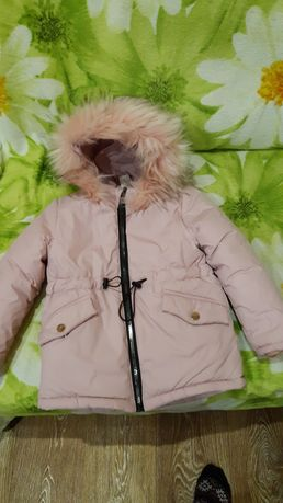 Продам красивую осень- зимнюю курточку для девочки