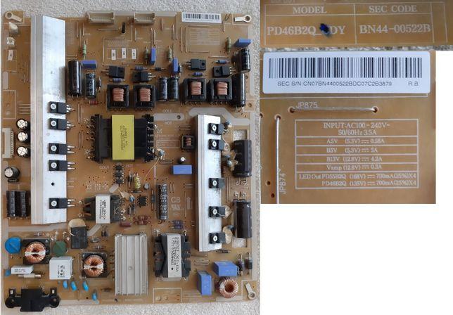 Płyta zasilacza SAMSUNG UE46ES8005 Model: PD46B2Q-CDY
