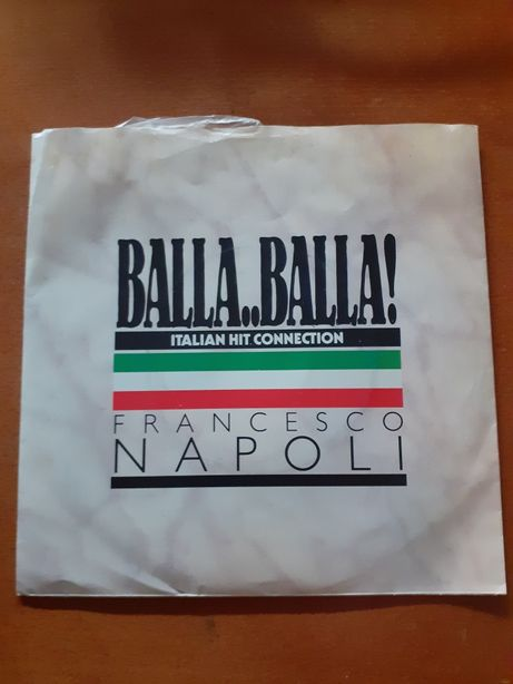 FRANCESCO NAPOLI - single vinil - BALLA BALLA