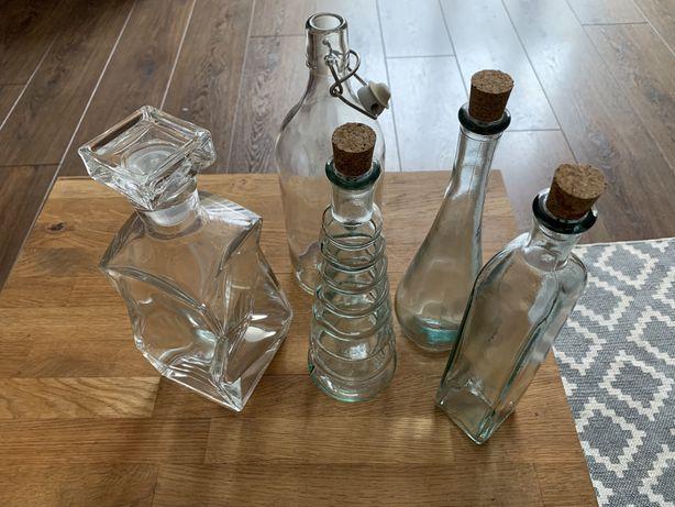 Karafka i butelki