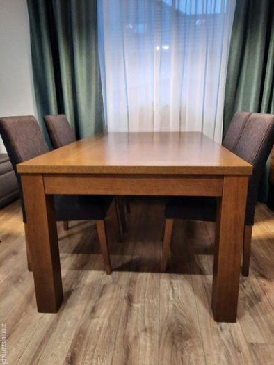 Stół rozkładany 100x160 (100x260), okleina naturalna