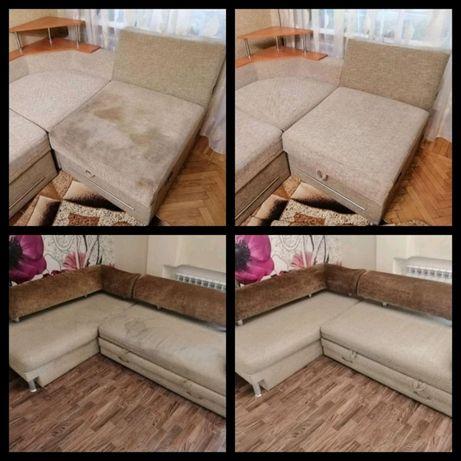 Химчистка, чистка диванов, ковров, мягкой мебели, матрацев