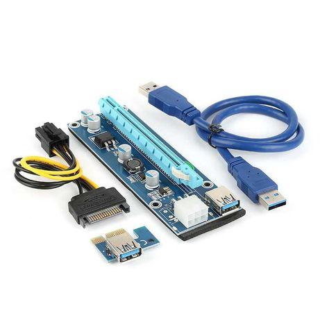 Riser PCI-E 16x para Mining - NOVOS / SELADOS